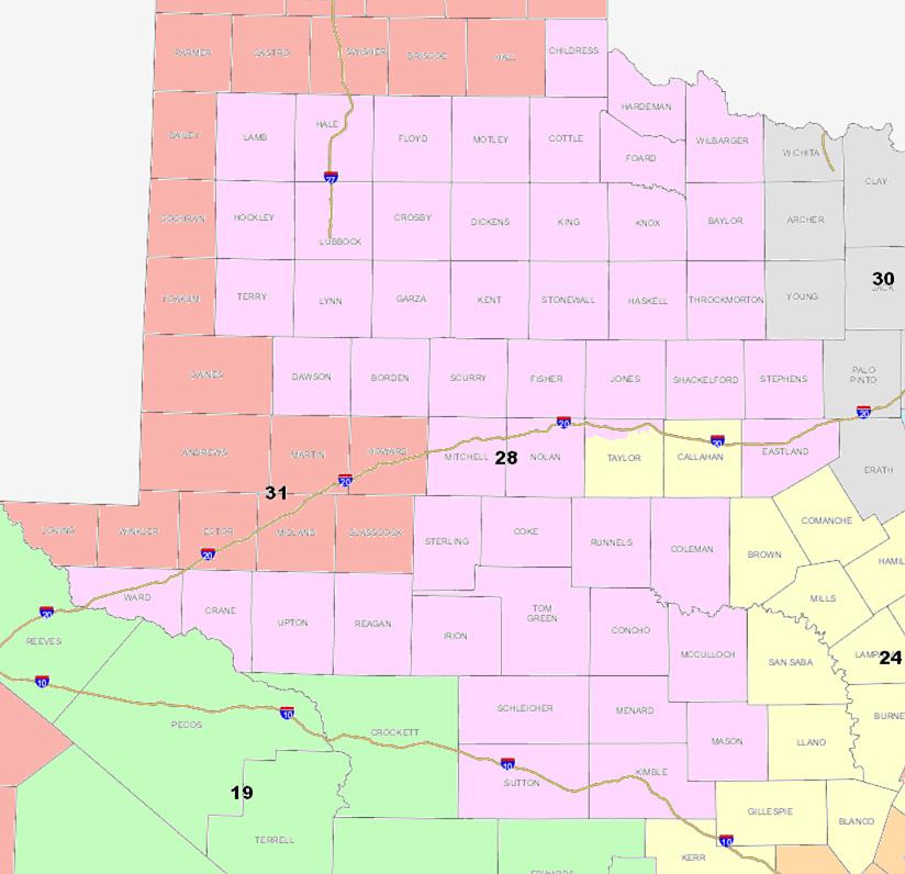Map Of Texas 2014.Map Dates Texas Senate District 28 9 9 Special Election Pratt
