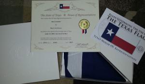 image: Texas flag winner kit