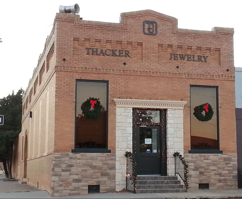 thacker jewelry pratt on texas
