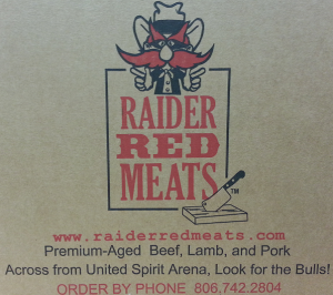 image: Raider Red Meats box logo