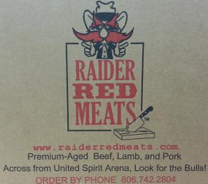 image: Raider Red Meats box logo