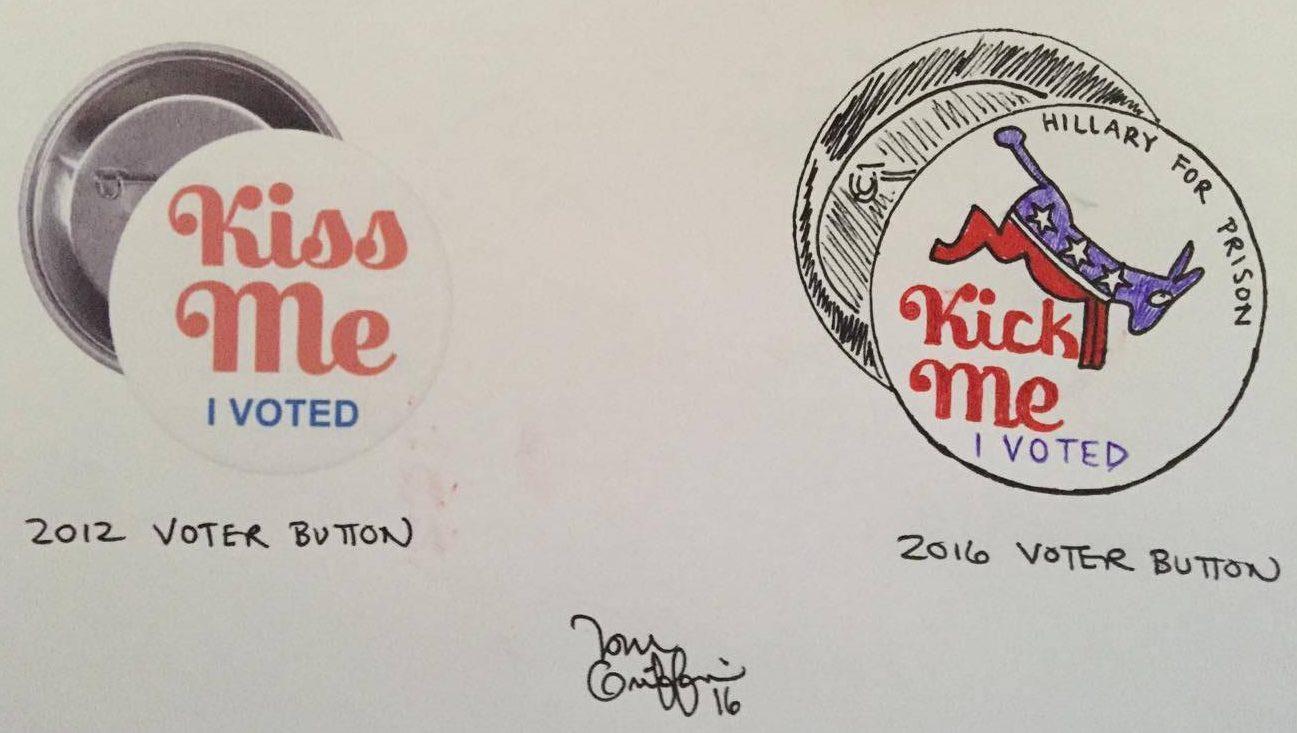Griffin: 2016 voter button — Pratt on Texas